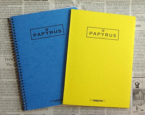 パピラス ノート  パピラスはスペイン Unipapel 社のノートで,シンプルながらセン...